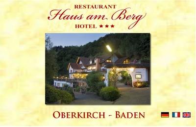 Hotel Restaurant Haus am Berg Oberkirch