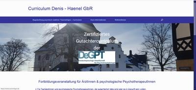 Curriculum Denis-Haenel GbR